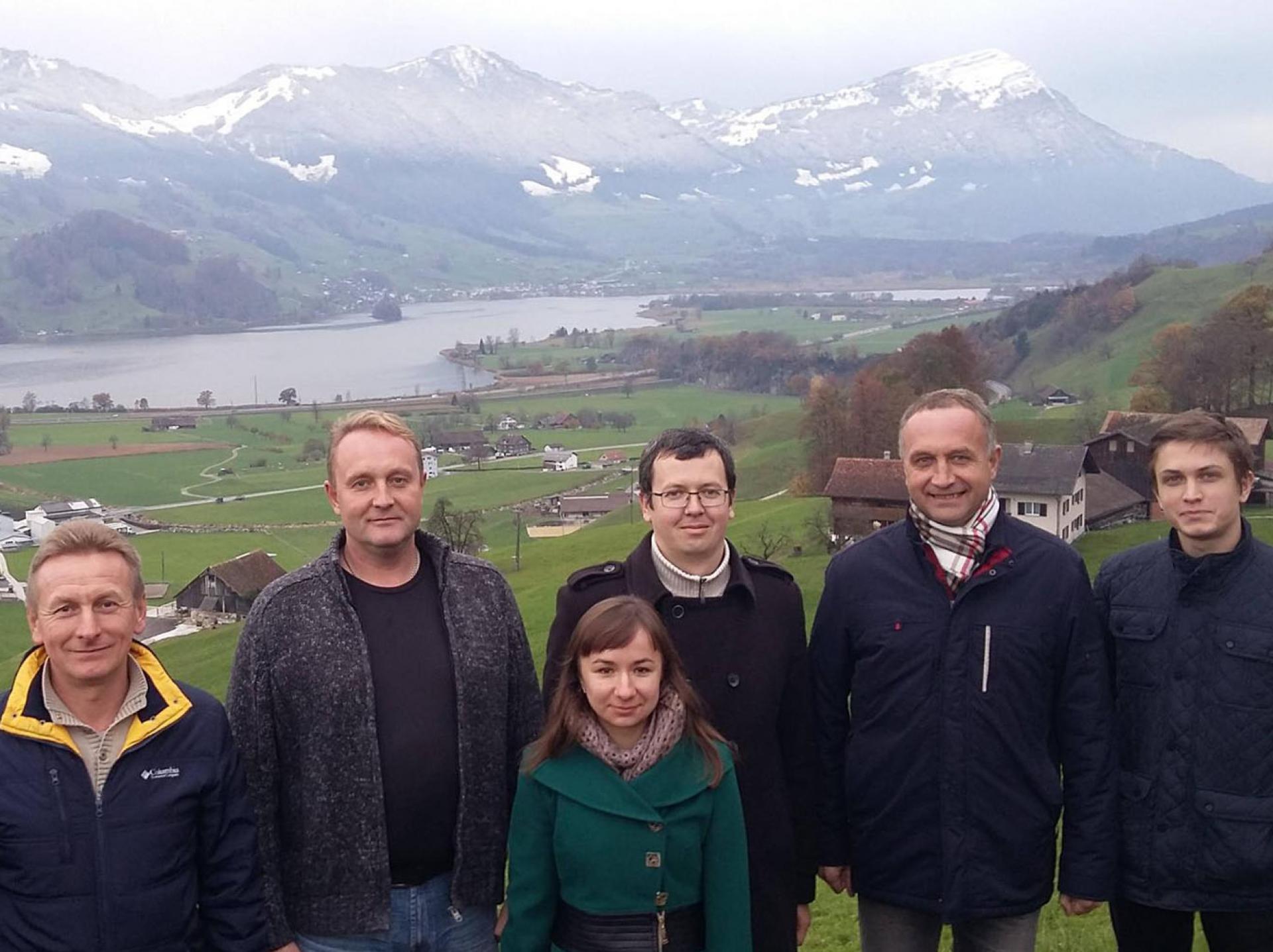 ділова поїздка до Швейцарії