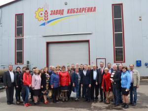екскурсія на Заводі Кобзаренка